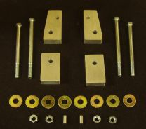 """Front Frame Spacers - 1"""" with bolts"""