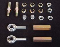 Toyota MX chassis Heim Tie Rod adapters - Regular length