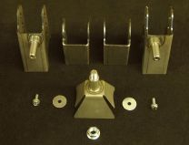"""E chassis 2.5"""" to 2.6"""" Axle Bracket Kit"""