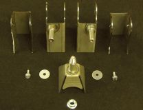 "E chassis 3.0"" Axle Bracket Kit"
